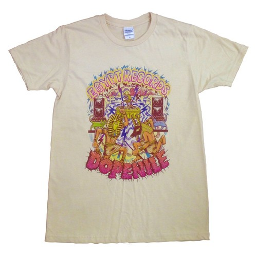 "【予約受付中】EGYPT RECORDS × Maronasty『""DOPENILE"" T-Shirts [砂漠色]』"