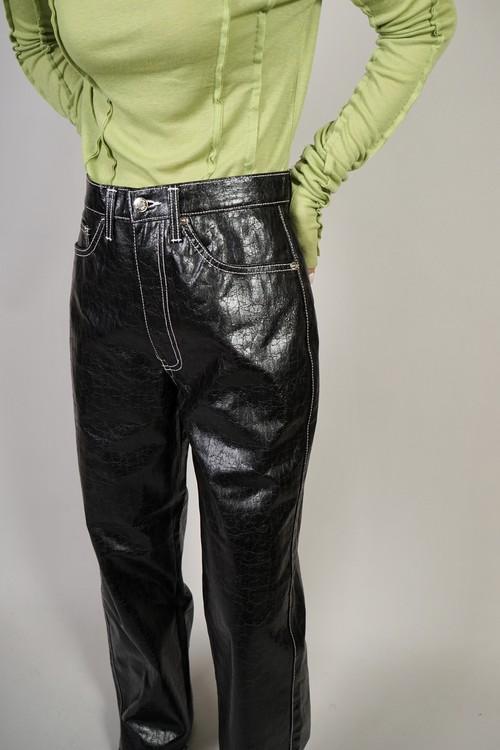 CRACK PANTS  (BLACK) 2103-96-247