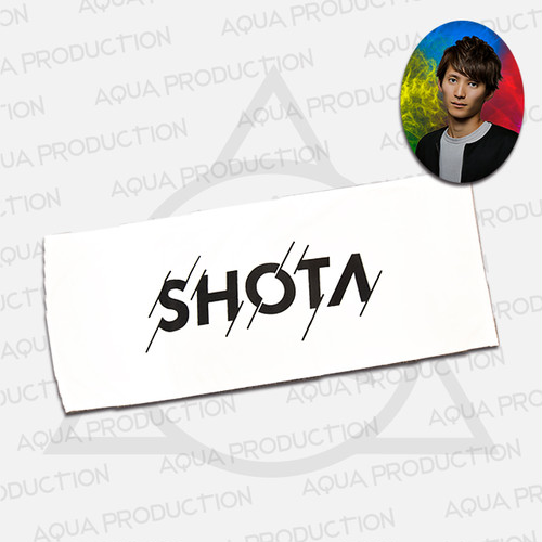DJ SHOTA ロゴフェイスタオル