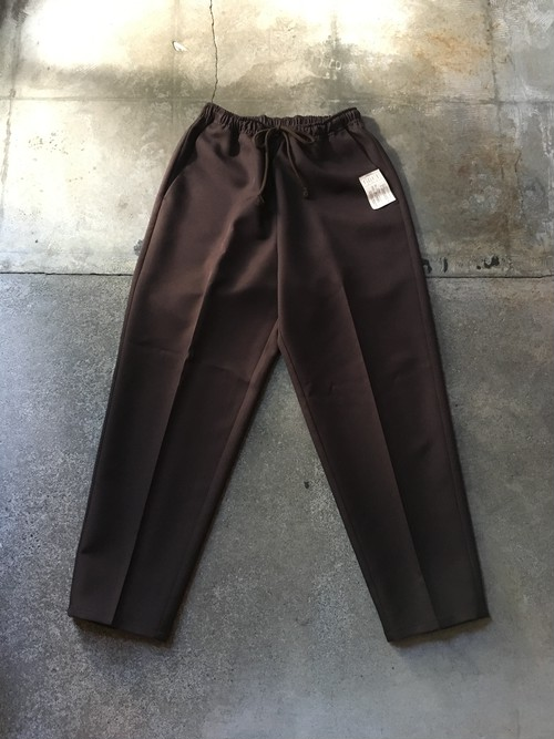 Brown Poly Easy Pants /CLO