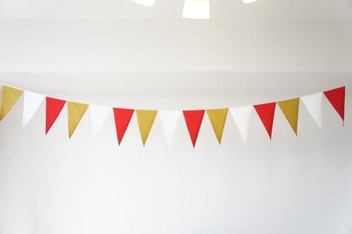 布ガーランド フラッグ 旗 結婚式 誕生日 パーティー キャンプ 飾り エレガンス