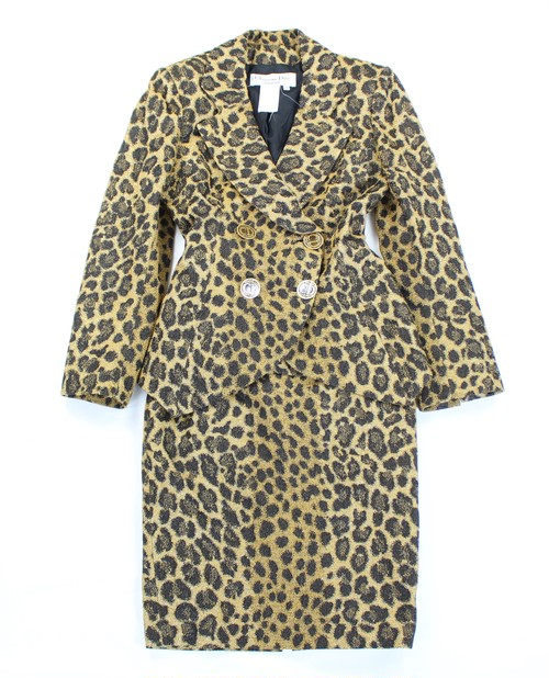 .Christian Dior LEOPARD PATTERNED SET UP MADE IN FRANCE/クリスチャンディオールレオパード柄セットアップ 2000000036502