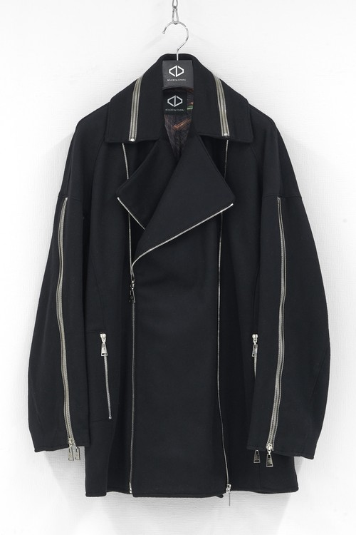 [Zip Pea Coat]  ※20AW COLLECTION PRE-ORDER