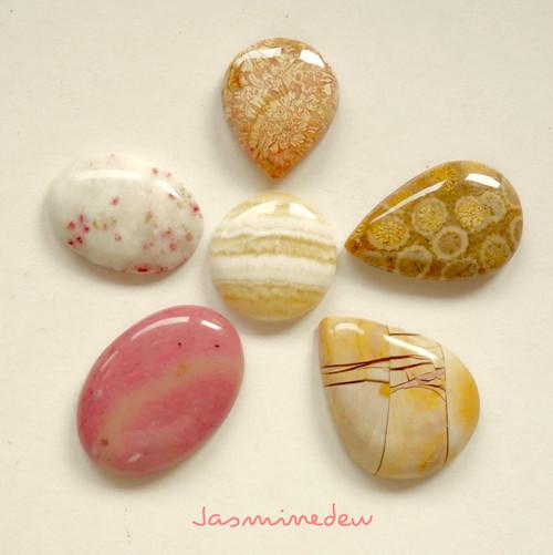 キャンディみたいな天然石セット