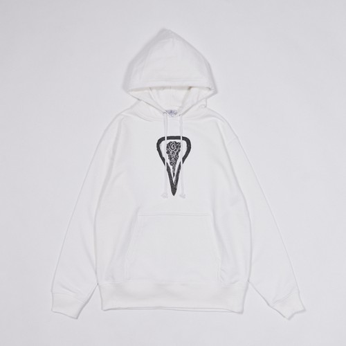 -Cavity-Pullover Hoodie