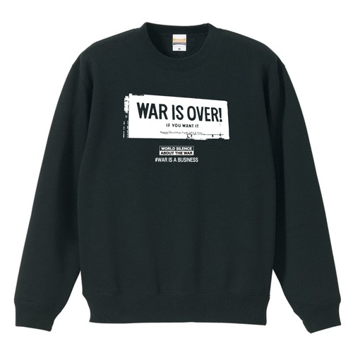 WAR IS OVER!(SWEAT)ブラック