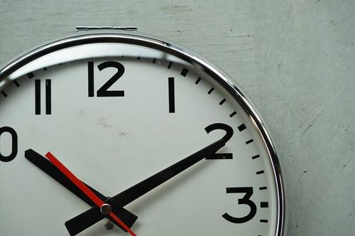 Vintage NT clock