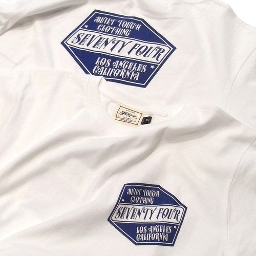 SEVENTY FOUR(セブンティーフォー) /  BUILT TOUGH LOGO T-SHRIT(STF19SS22)(Tシャツ)