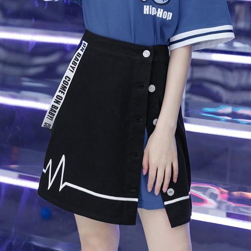 【ボトムス】夏新作ルーズスウィートファッションスカート