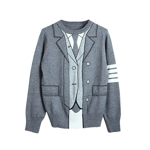 RIMI&Co. SELECT トロンプルイユ  セーター 2Color < Trompe-L'oeil Sweater >