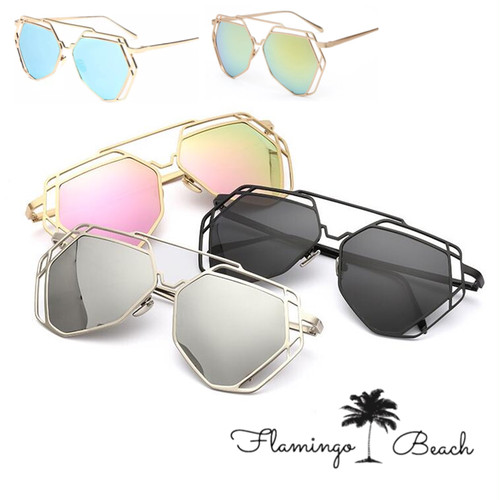 【FlamingoBeach】mirror sunglasses