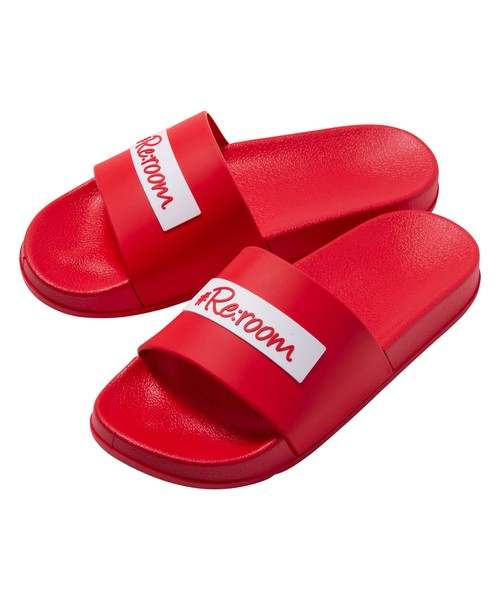 BOX LOGO SHOWER SANDALS[RSH014]