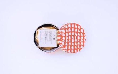 シマノネ お茶入り缶「うっちん茶」赤瓦