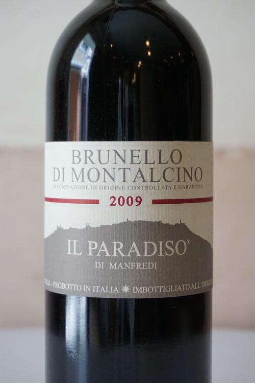 Burunello di Montalcino 2009 / Il Paradiso di Manfredi( ブルネッロ ディ モンタルチーノ / イル パラディソ ディ マンフレディ )