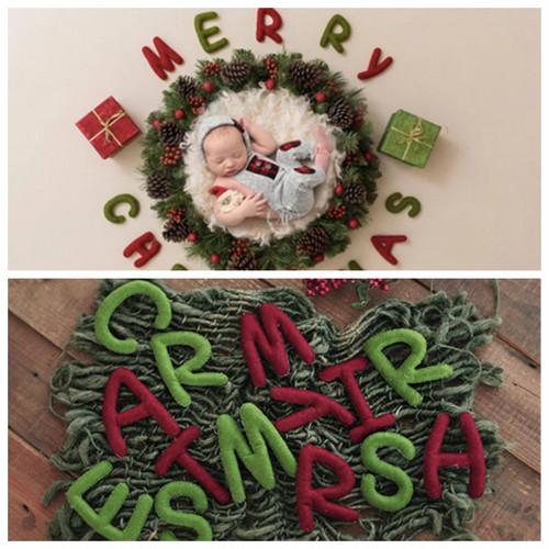 Merry Christmasフェルトレターセット