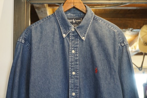 90's Ralph Lauren cotton denim Shirt