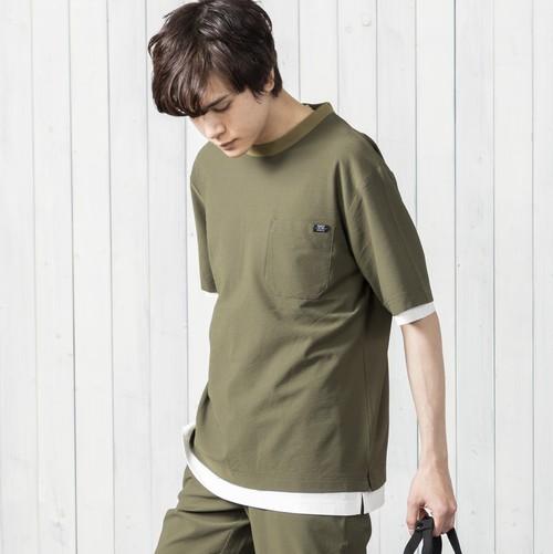 クイックドライ機能素材クルーネックTシャツ NO0512103