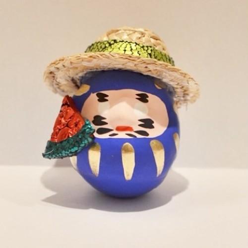 OMNESだるま 夏バージョン NATSUYASUMI (BLUE)