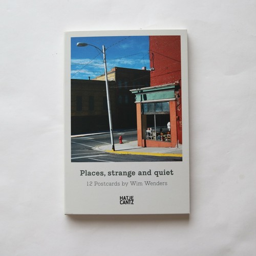 Places, Strange and Quiet Card Book Card Book: 12ページ / Wim Wenders