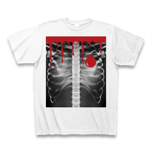 ASH DROP ボーンドロッププリントTシャツ BLOOD