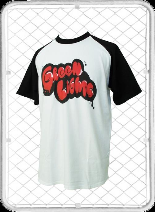 Green Lights T-shirt / グリーンライツ ラグラン T-シャツ