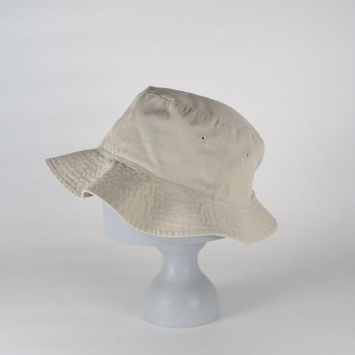 AW20-BD-2 Gabardine W-Face Hat - BEG