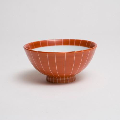 赤巻十草 小碗