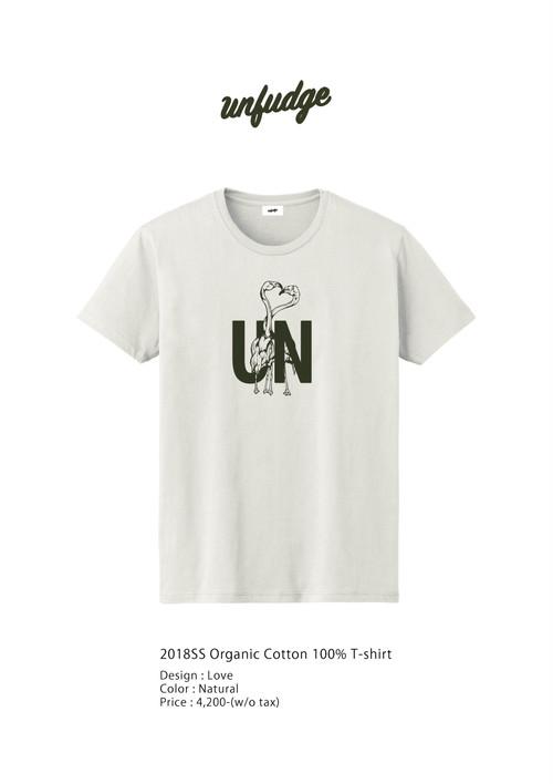 Organic cotton 100% T-shorts // Love