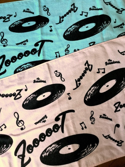 The Sessions✖️THE ZOOT16  F-TOWEL