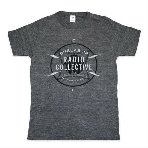 DUBLAB.JP RADIO COLLECTIVE T-SHIRTS CHARCOAL