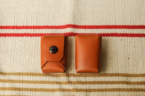 BATTERY CASE -BROWN-