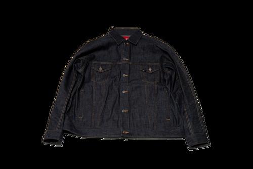 [予約商品]EFFECTEN(エフェクテン)upon the track denim jacket [Rigid]