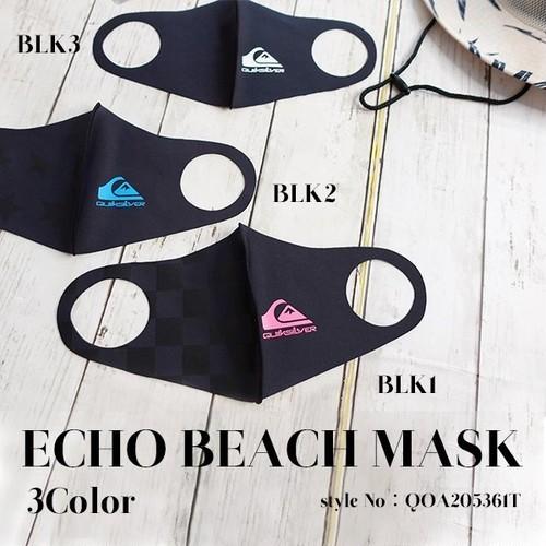 QOA205361T クイックシルバー マスク メンズ おしゃれ スタイリッシュ プレゼント ギフト ブラック ECHO BEACH MASK QUIKSILVER