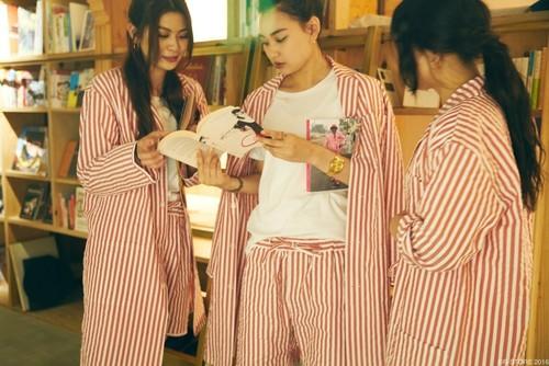 "NOWHAW × BNBT ""day long"" pajama レッド (池袋店モデル)"