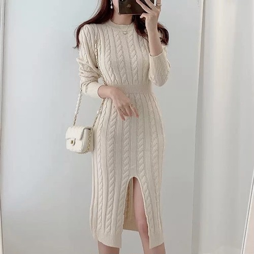 center cut reversible dress 2color