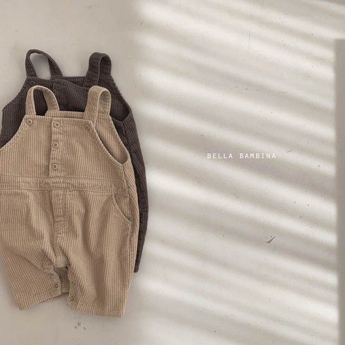 =sold out= golden suspender-suit〈BELLA BAMBINA〉【baby】