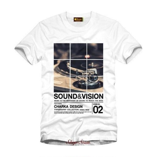 Sound and Vision Art Printing T-Shirts