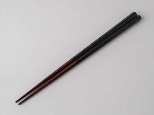 五角箸 黒色