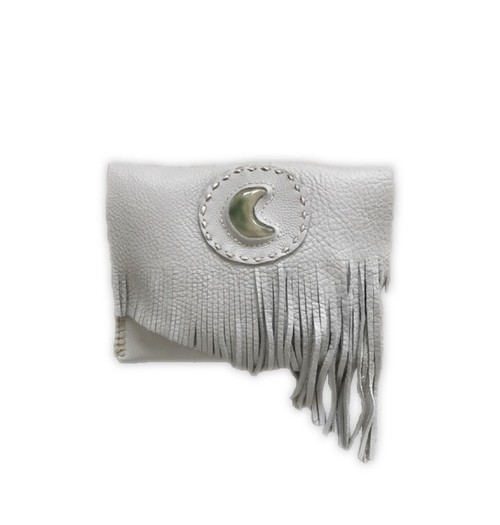 SALE! stone clutch (moon)