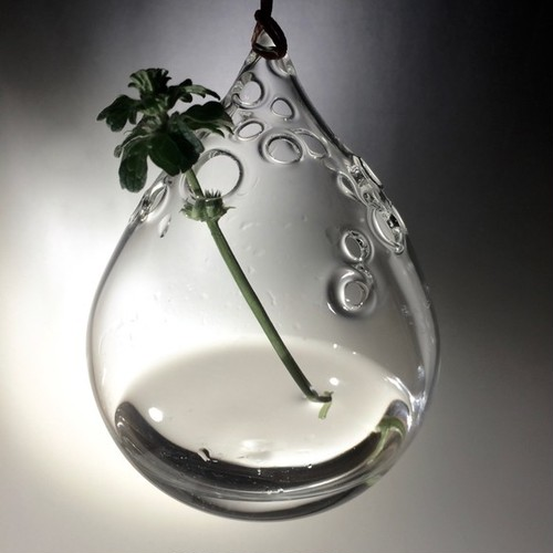 【送料無料】-Bubble Drop- flower vase