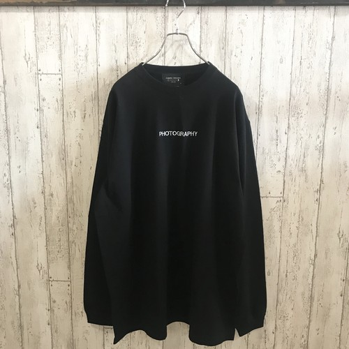 """""""PHOTOGRAPHY"""" L/S TEE"""