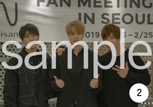 「FAN MEETING IN SEOUL 2019」ブロマイド No.2(GROUP)