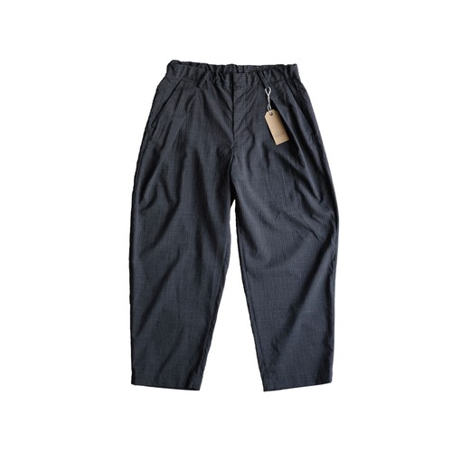 COLINA Washable wool Tro W-tuck pants
