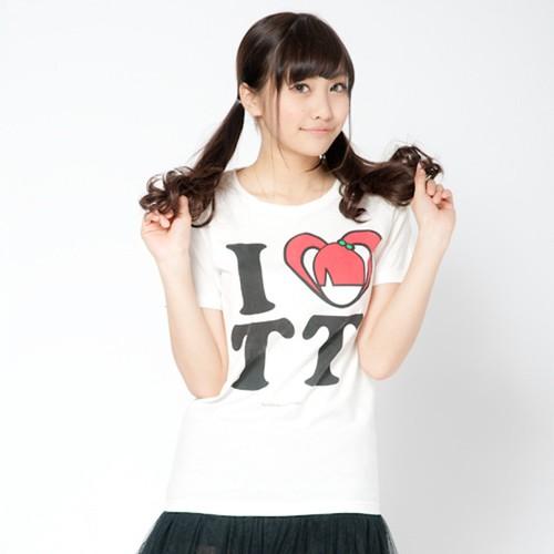 I LOVE TT Tシャツ (White)