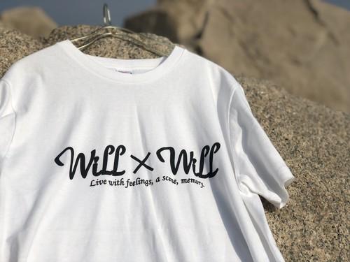 Will×Will Logo T-shirts【WHITE】