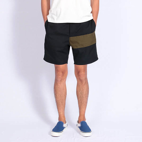 Short pants every day CENTER LINE TENT Black/Kahki
