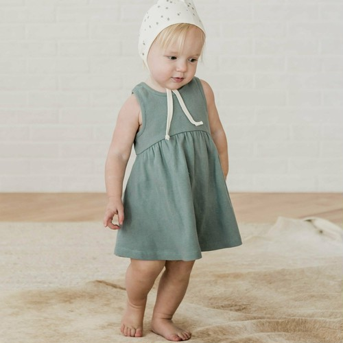 QUINCY MAE Ribbed Tank Dress(全4色/6-12m,12-18m,18-24m,2-3y)