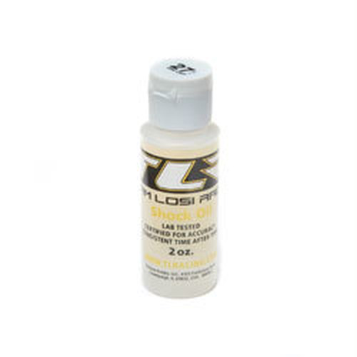 TLR74005 SILICONE SHOCK OIL, 27.5WT, 2 OZ