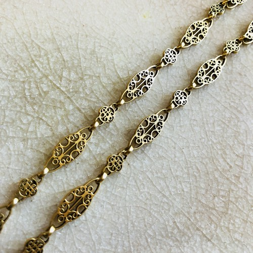 French Antique Gold Chain