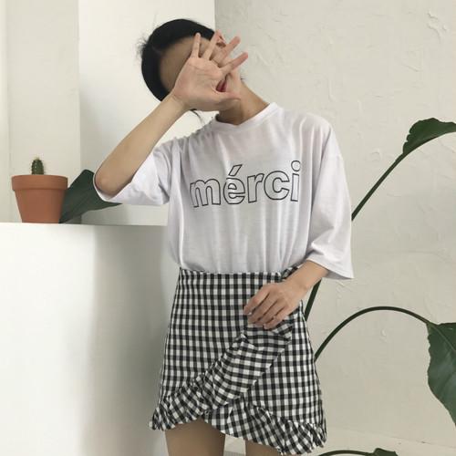 【お取り寄せ商品】plaid frill culottes skirts 2439